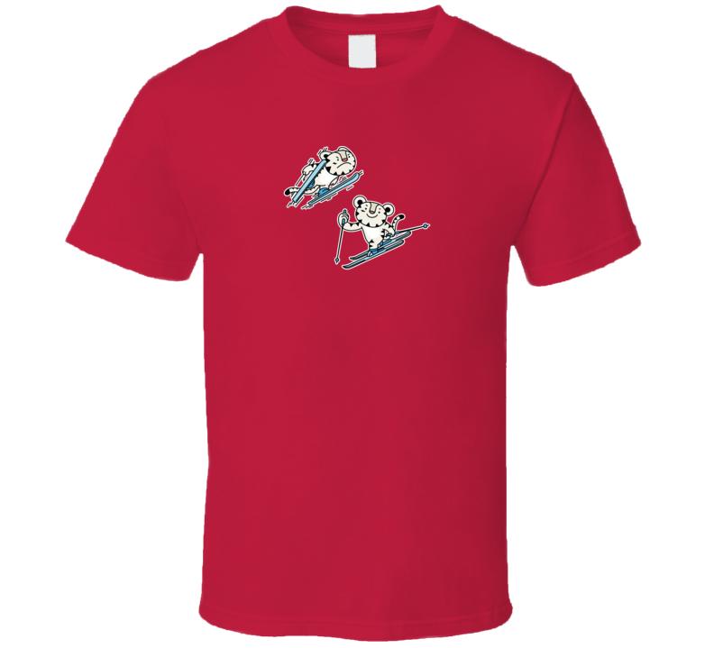 Nordic Combined Soohorang Pyeongchang 2018 Olympics Mascot T Shirt