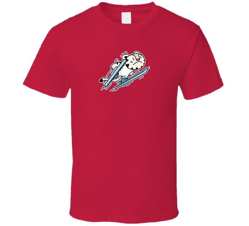 Ski Jumping Soohorang Pyeongchang 2018 Winter Olympics Mascot T Shirt