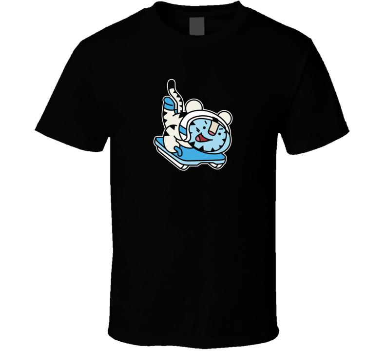 Skeleton Soohorang Pyeongchang 2018 Winter Olympics Mascot T Shirt