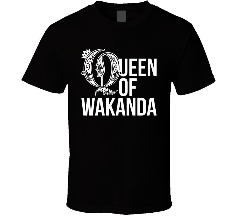 Queen Of Wakanda Black Panther T Shirt