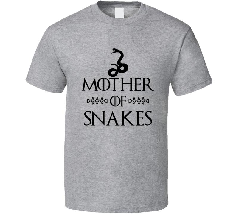 Mother Of Snakes Got Parody Sport Grey T Shirt
