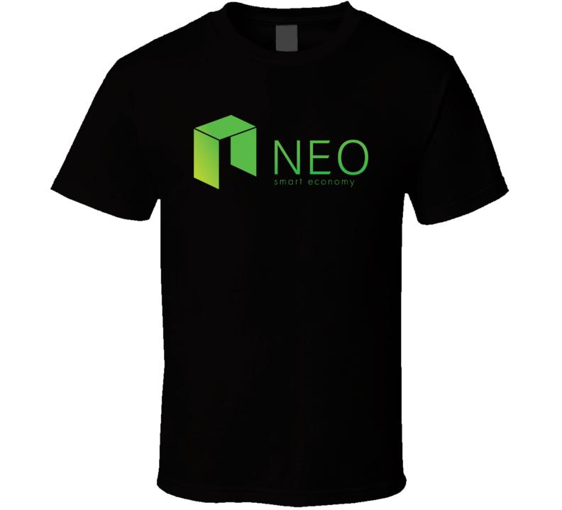 Neo Smart Economy Cryptocurrency Blockchain Geek Investor T Shirt