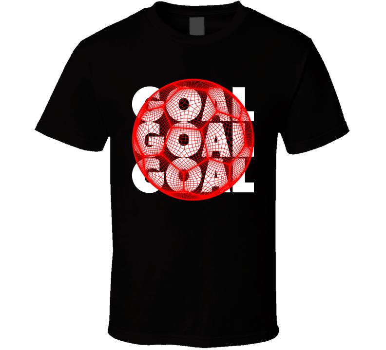 Switzerland Goal Soccer Ball Mesh Football World Cup Futbol Fan T Shirt