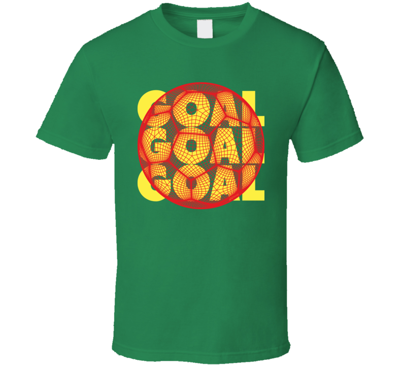 Senegal Goal Soccer Ball Mesh Football World Cup Futbol Fan T Shirt