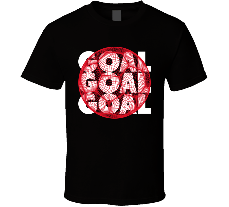 Poland Goal Soccer Ball Mesh Football World Cup Futbol Fan T Shirt