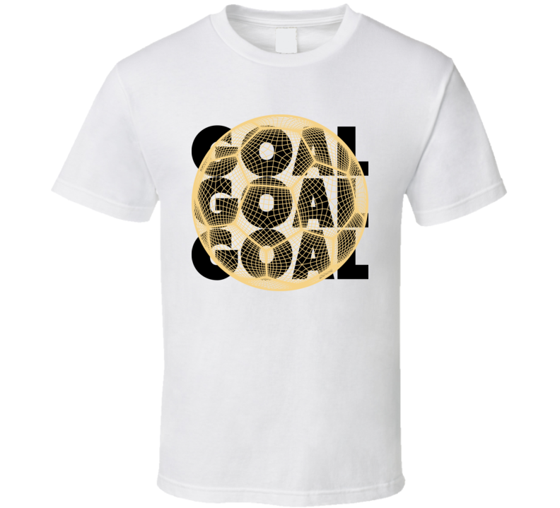 German Goal Soccer Ball Mesh Football World Cup Futbol Fan T Shirt