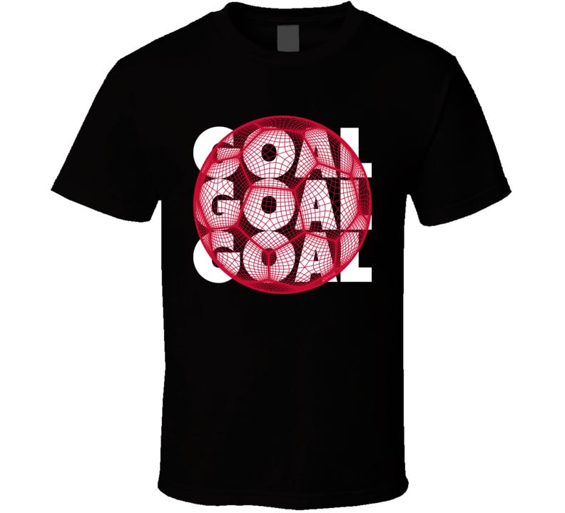 Egypt Goal Soccer Ball Mesh Football World Cup Futbol Fan T Shirt