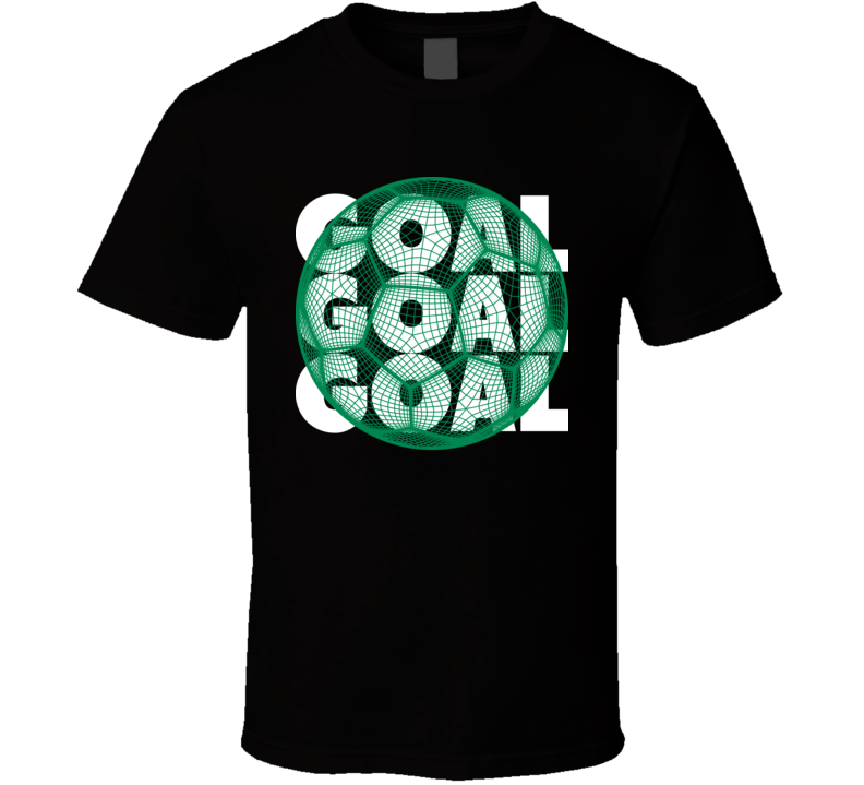 Nigeria Goal Soccer Ball Mesh Football World Cup Futbol Fan T Shirt