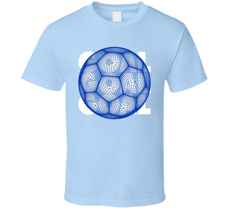 Uruguay Goal Soccer Ball Mesh Football World Cup Futbol Fan T Shirt
