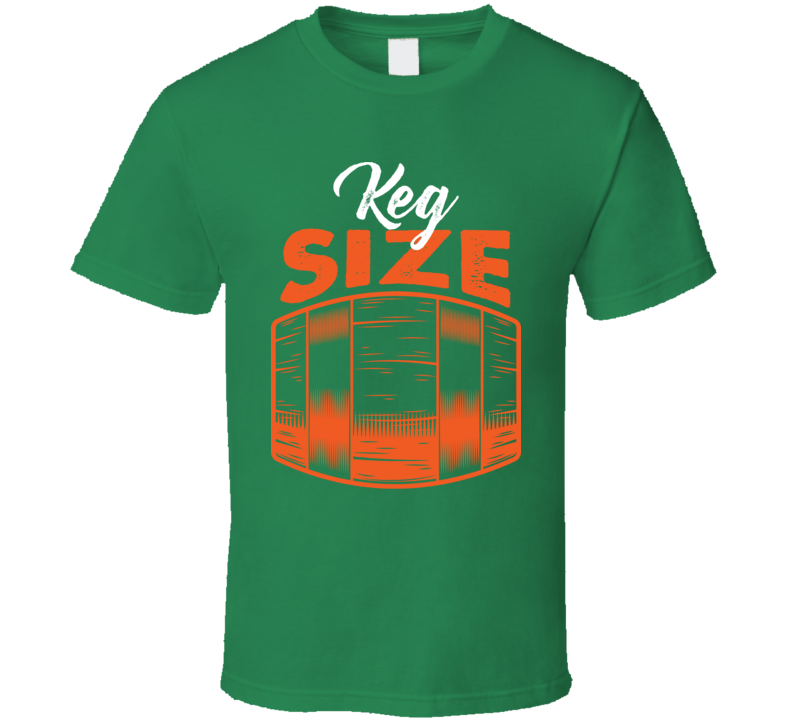Keg Size Father Son Daughter Beer Lager T Shirt