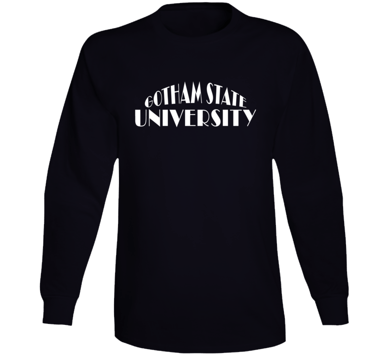 Gotham University Batman Fictional University Tv Show Fan Long Sleeve
