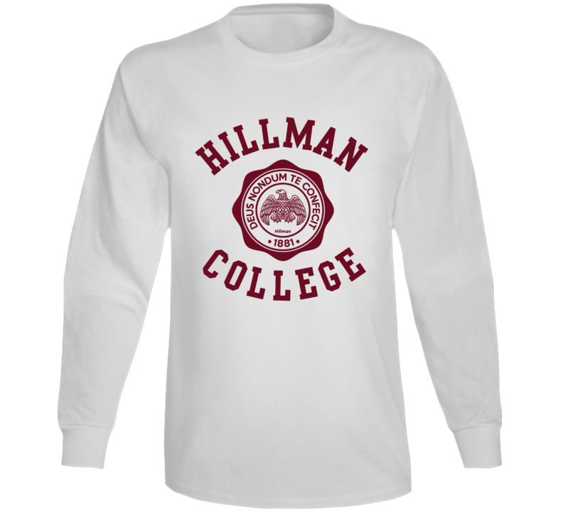 Hillman College Fictional College The Cosby Show Tv Show Fan Long Sleeve