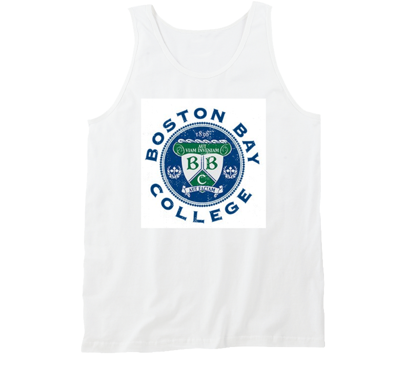 Boston Bay College Fictional University Dawson's Creek Distressed Look Tanktop