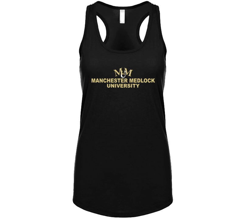 Manchester Medlock University Fictional College Fresh Meat Tv Show Fan Womens Tanktop