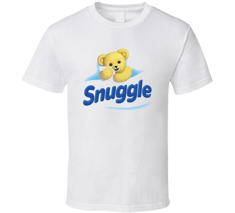 Snuggle Bear Fabric Softener Mascot T Shirt