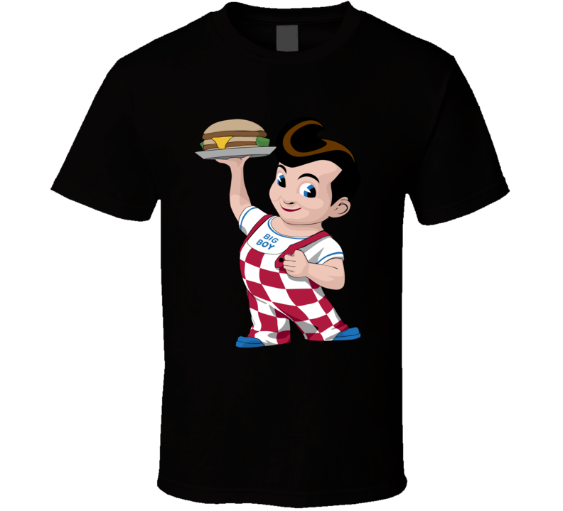 Big Boy Fast Food Mascot T Shirt