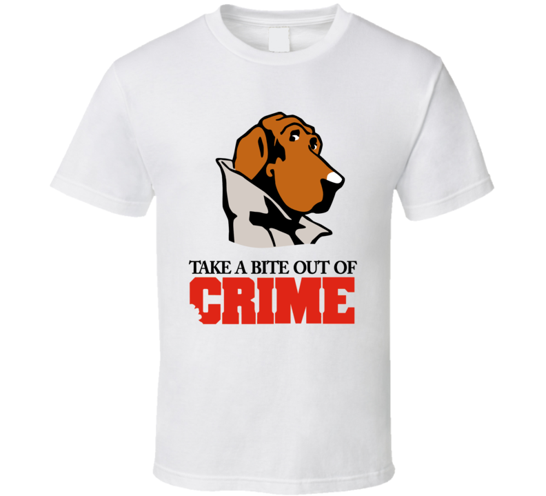 Take A Bite Out Of Crime Mcgruff The Crime T Shirt