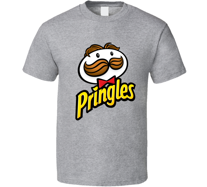 Pringles Chips Food Snack Mascot T Shirt