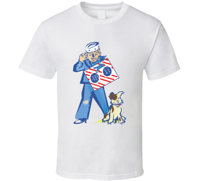Sailor Jack And Bingo Cracker Jack Snack Mascot T Shirt