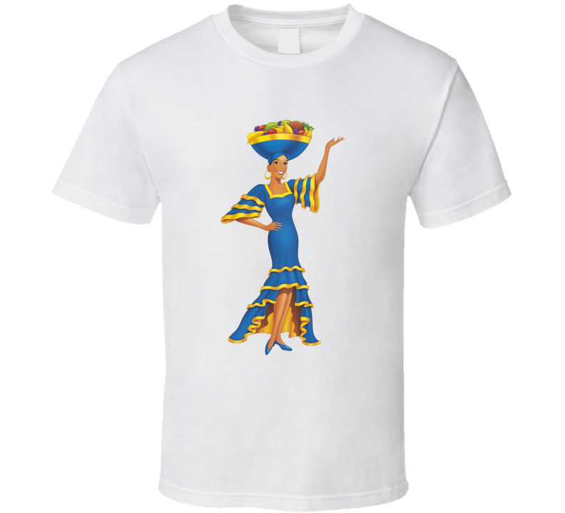 Miss Chiquita First Lady Of Fruit Banana Brand Mascot T Shirt