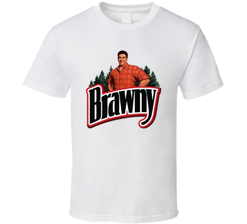 Brawny Paper Towel Guy Mascot T Shirt