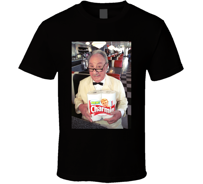 Mr Whipple Charmin Toilet Paper Mascot T Shirt