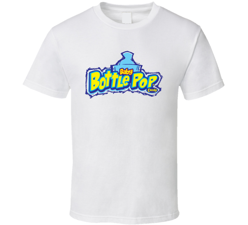 Baby Bottle Pop Candy Snack Food Lover T Shirt
