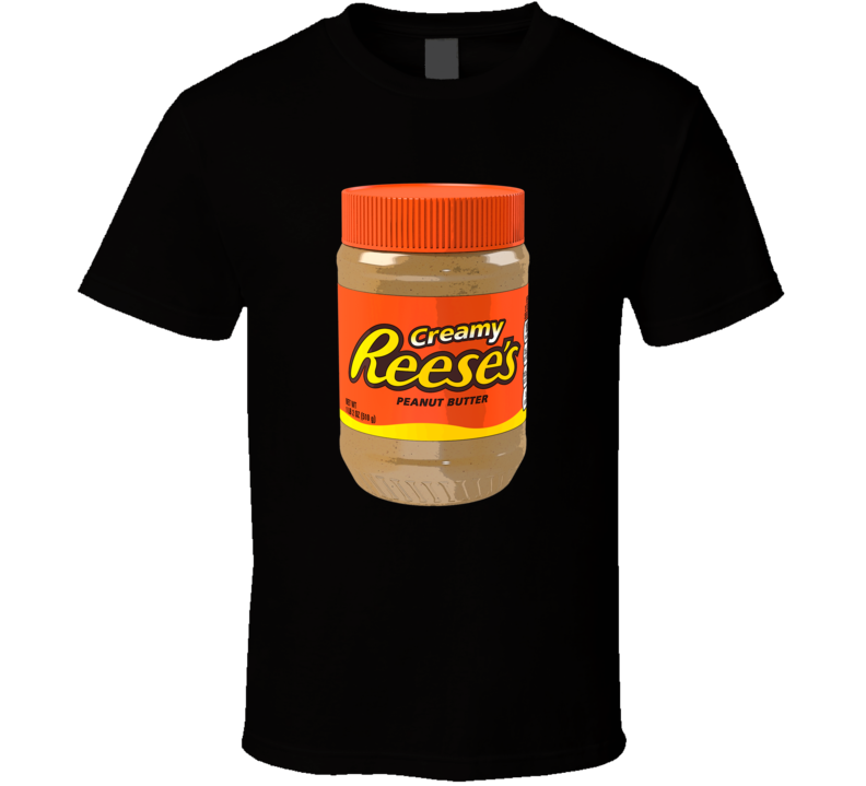 Creamy Reese's Peanut Butter Cool Foodie T Shirt