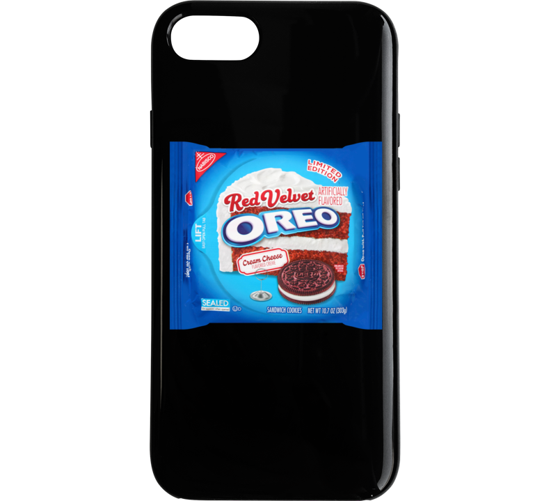 Red Velvet Oreo Cookies Cool Junk Food Sweets Snack Lover Foodie Phone Case