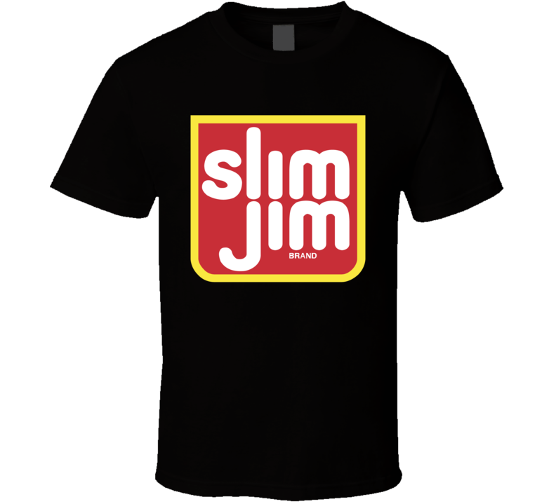Slim Jim Beef Jerky Snack Food T Shirt
