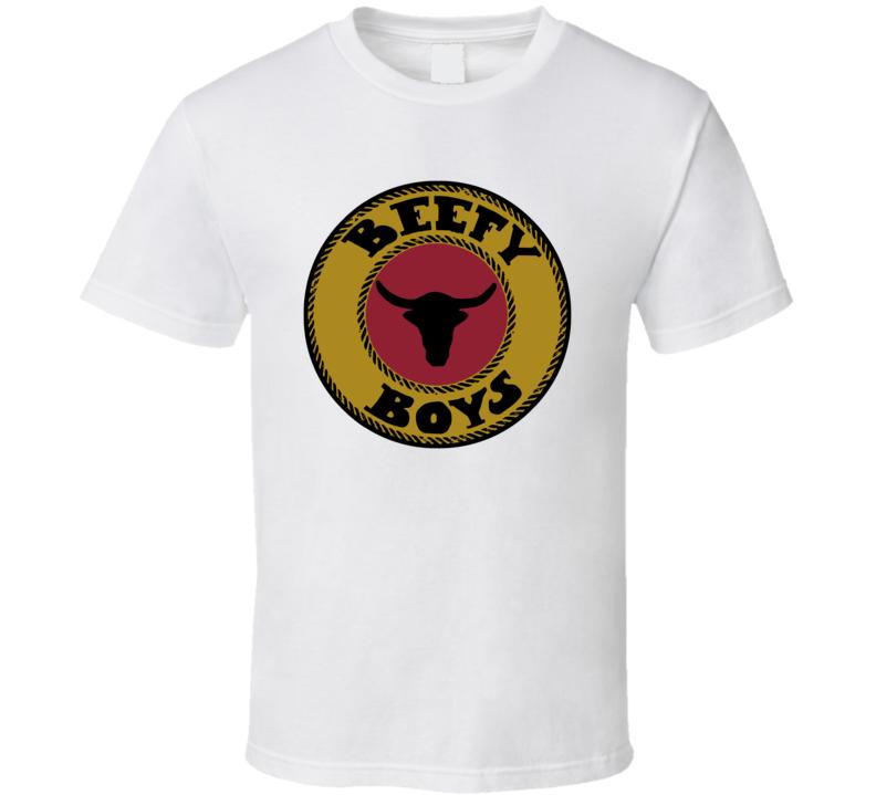 Beefy Boys Beef Jerky Food T Shirt