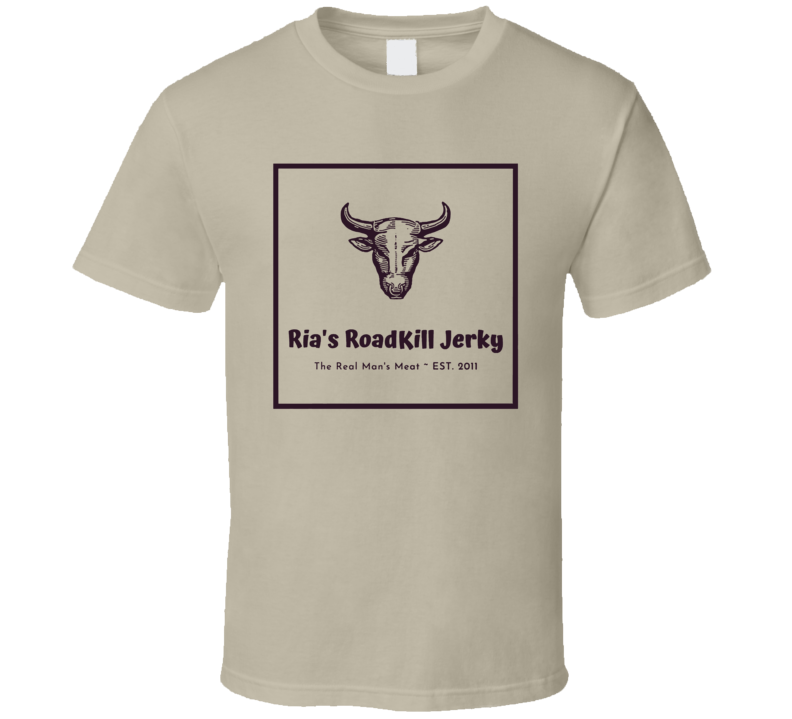 Rias Roadkill Beef Jerky Snack Food T Shirt