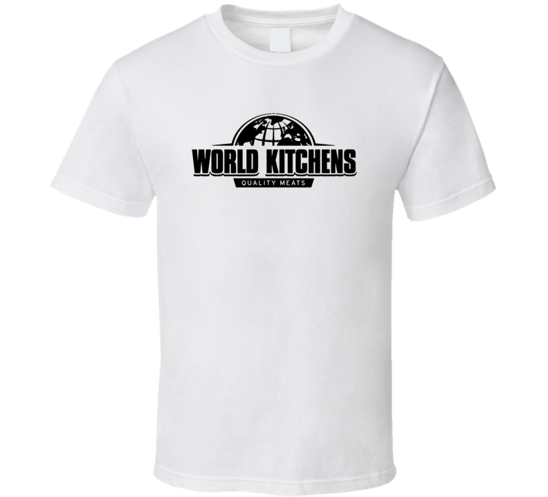 World Kitchens Quality Meats Beef Jerky Snack T Shirt