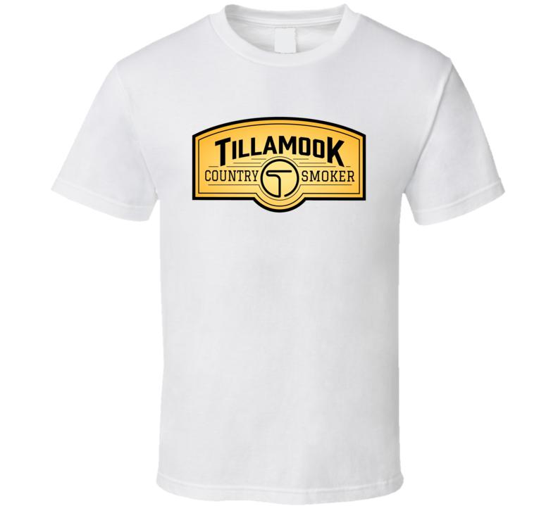 Tillamook Country Smoker Beef Jerky Snack T Shirt