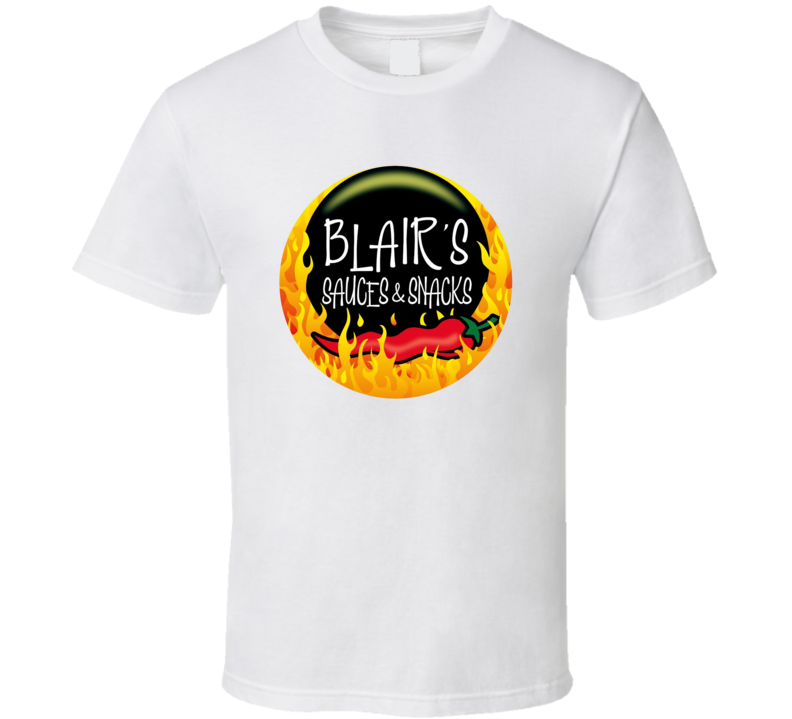 Blairs Sauces And Snacks Beef Jerky Snack T Shirt