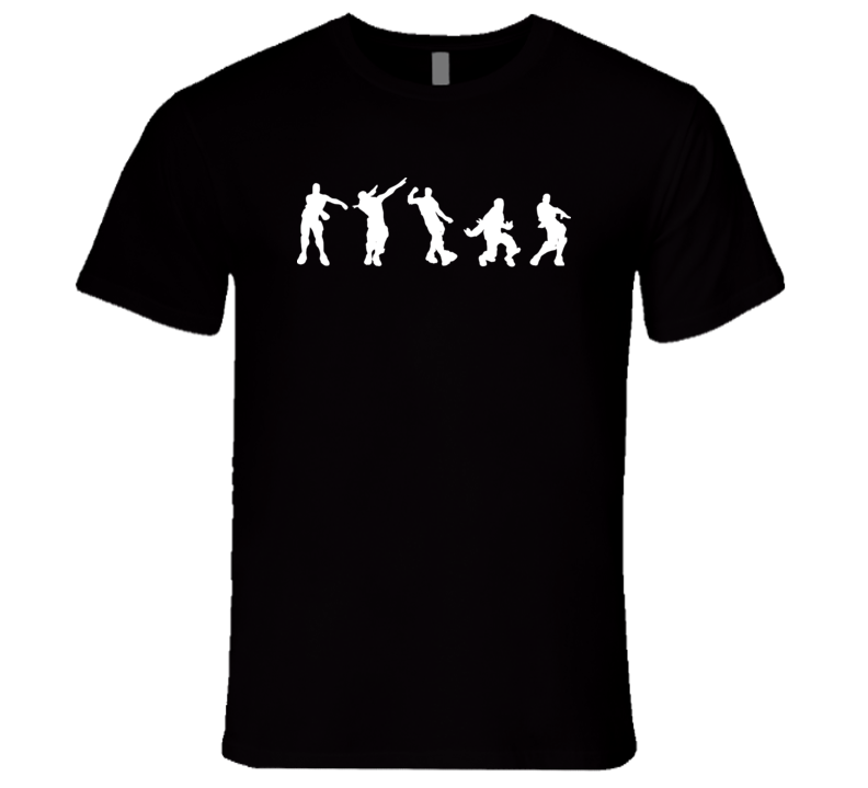 Dance Moves Fortnite Videogame Dance Move Cool Videogame T Shirt
