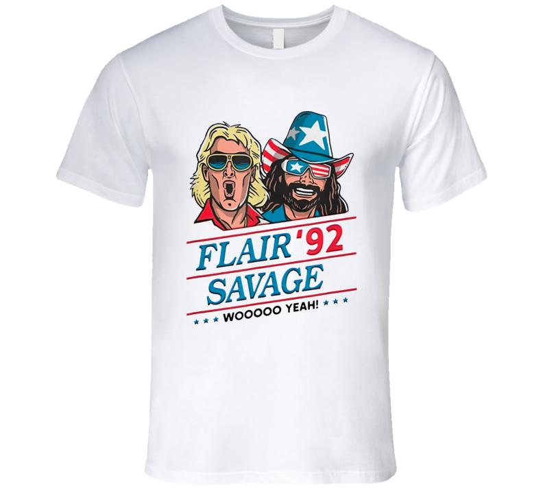 Flair Savage 1992 Woo Yeah T Shirt