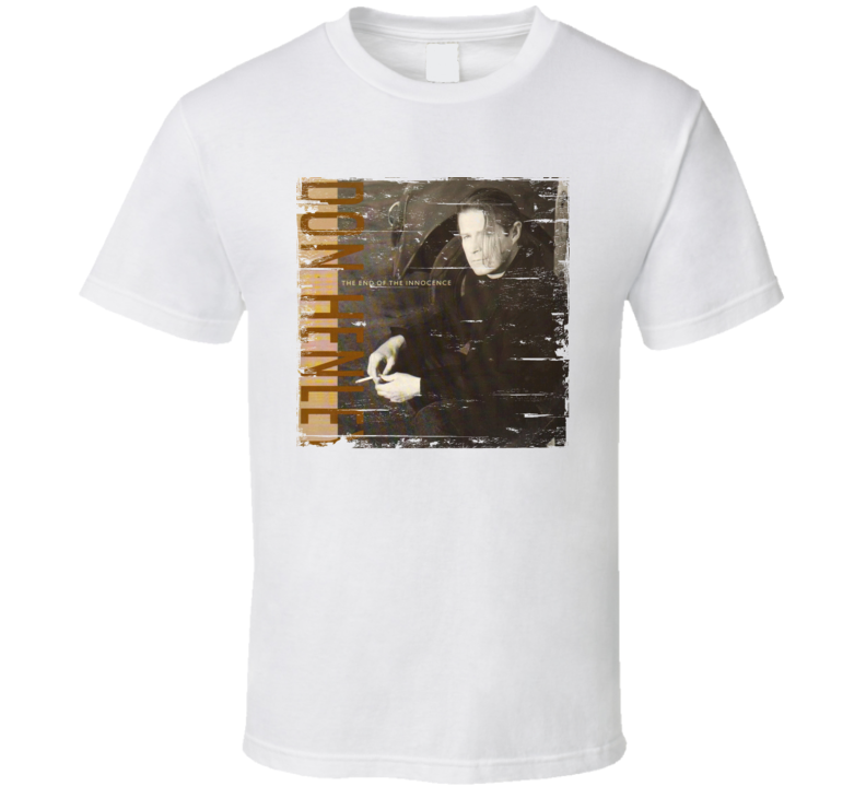 Don Henley The End Of Innocence Album Cover Distressed Image T Shirt