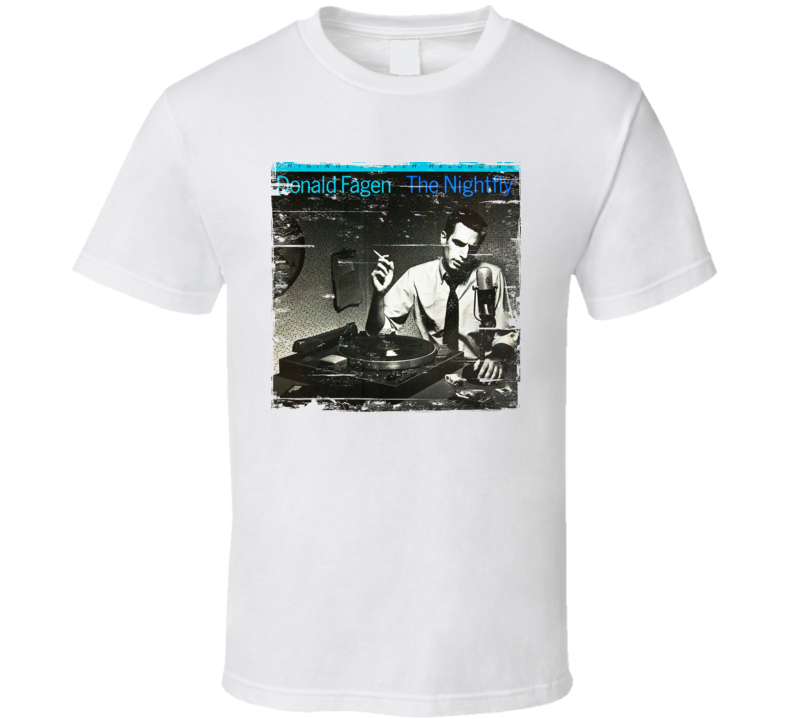 Donald Fagen The Nightfly Album Cover Distressed Image T Shirt