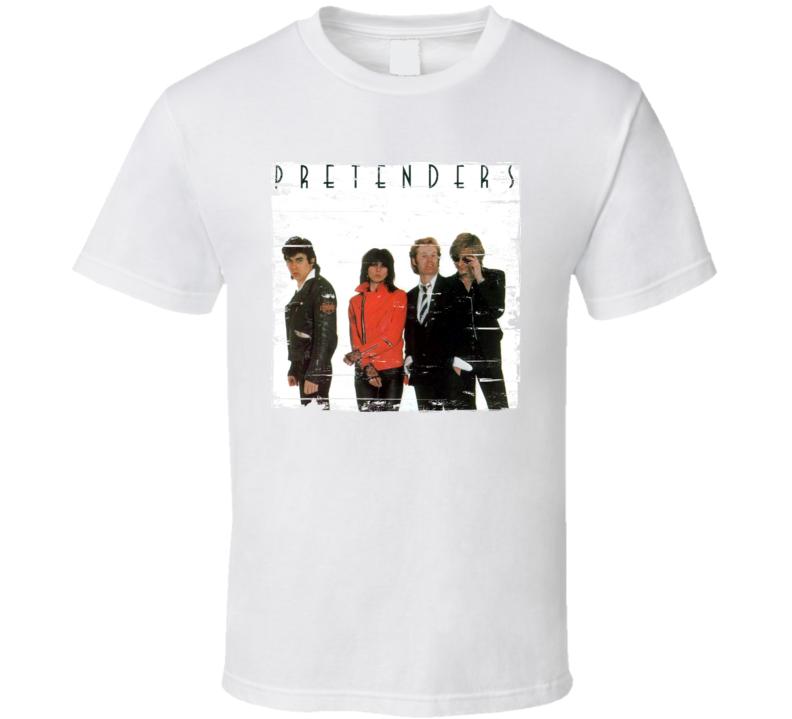 Pretenders Pretenders Album Cover Distressed Image T Shirt