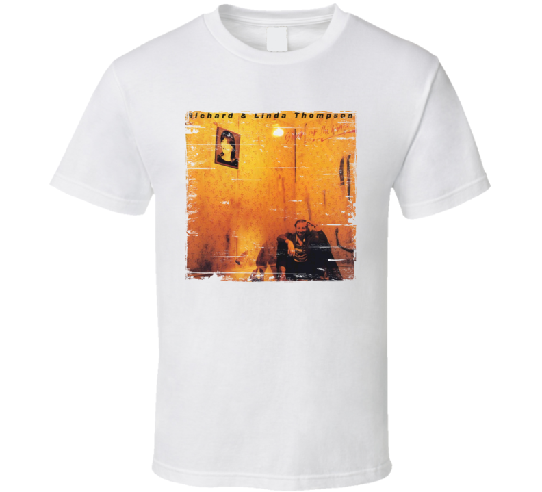 Richard and Linda Thompson Shoot Out The Lights Album Cover Distressed Image T Shirt