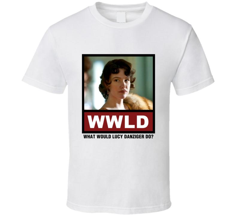 What Would Lucy Danziger Do WWLD Boardwalk Empire T Shirt