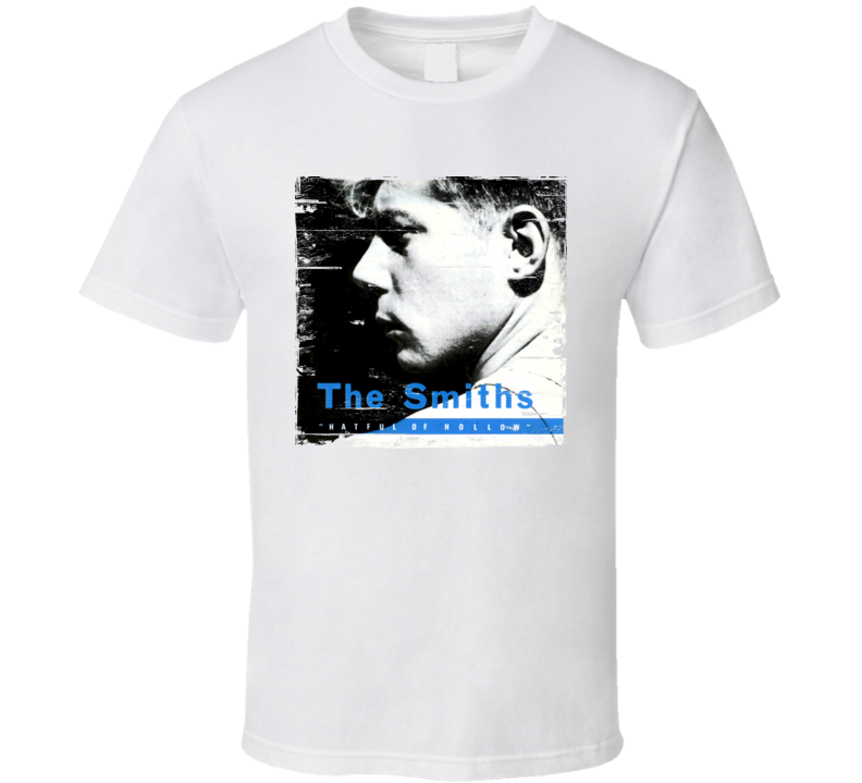 a667eef3 The Smiths Hatful Of Hollow Album Cover Distressed Image T Shirt