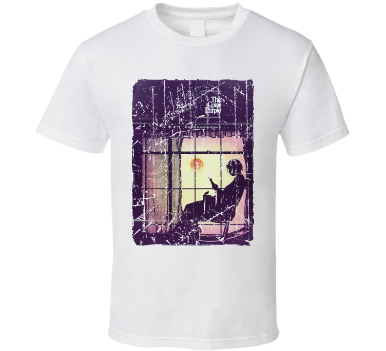 The Color Purple Movie Poster Retro Aged Look T Shirt