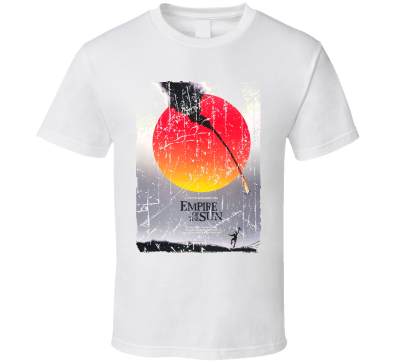 Empire Of The Sun Movie Poster Retro Aged Look T Shirt