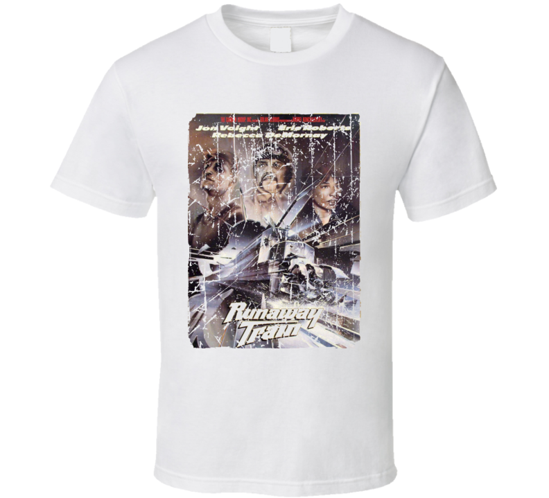 Runaway Train Movie Poster Retro Aged Look T Shirt