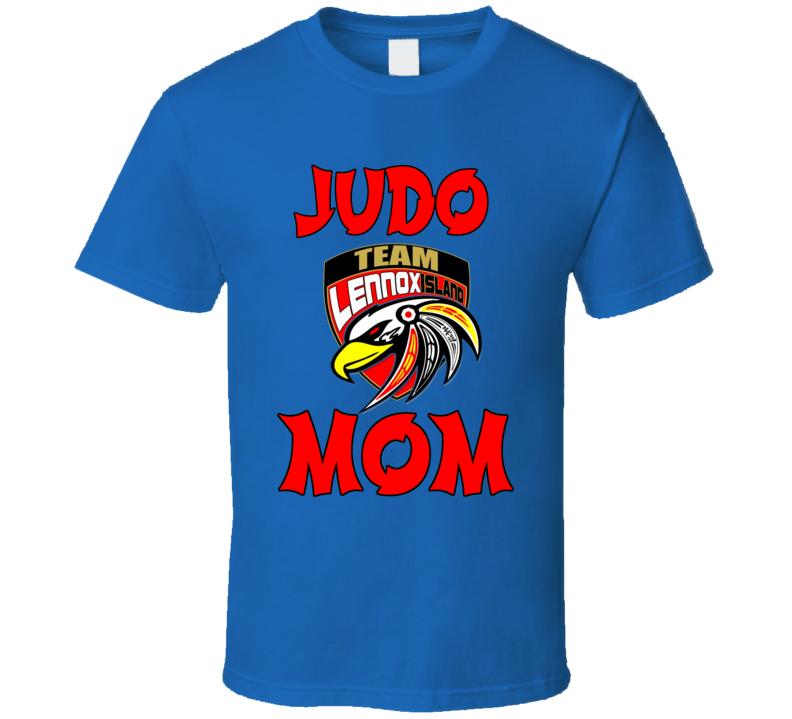 Lennox Island Judo Mom T Shirt