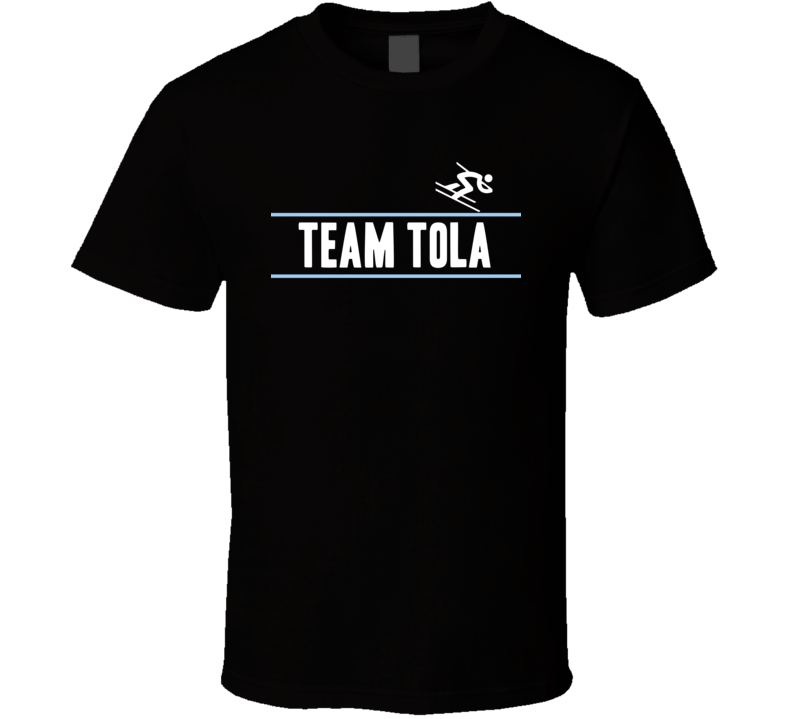Erjon Tola Albania Team Winter Olympic Athlete Alpine Skiing Fan T Shirt