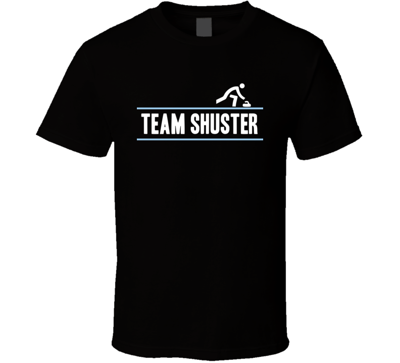 John Shuster Usa United States  Team Winter Olympic Athlete Curling Fan T Shirt