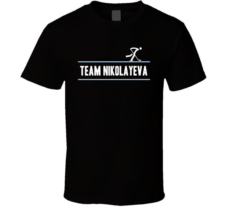 Yekaterina Nikolayeva Olympic Athletes From Russia Team Winter Olympic Athlete Ice Hockey Fan T Shirt